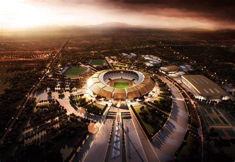 ptw architects brazzaville stadium