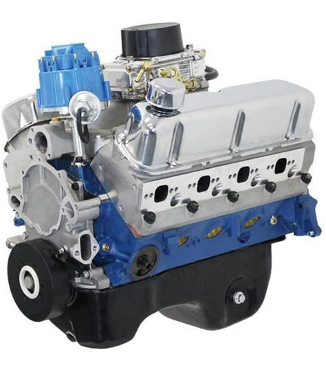 Blue Number 4 513 Cars blueprint engines 302ci crate engine small block ford
