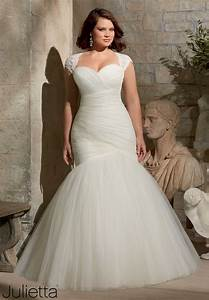 best style wedding dress for plus size bride 2018 With plus wedding dresses