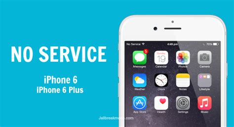 no service on iphone iphone 6 plus no service problem fix ios 8
