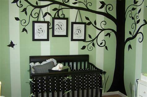 sweet silhouette tree decal project nursery