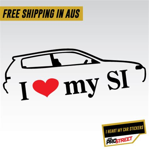 si鑒e auto i size i my si jdm car sticker decal jdm prostreet