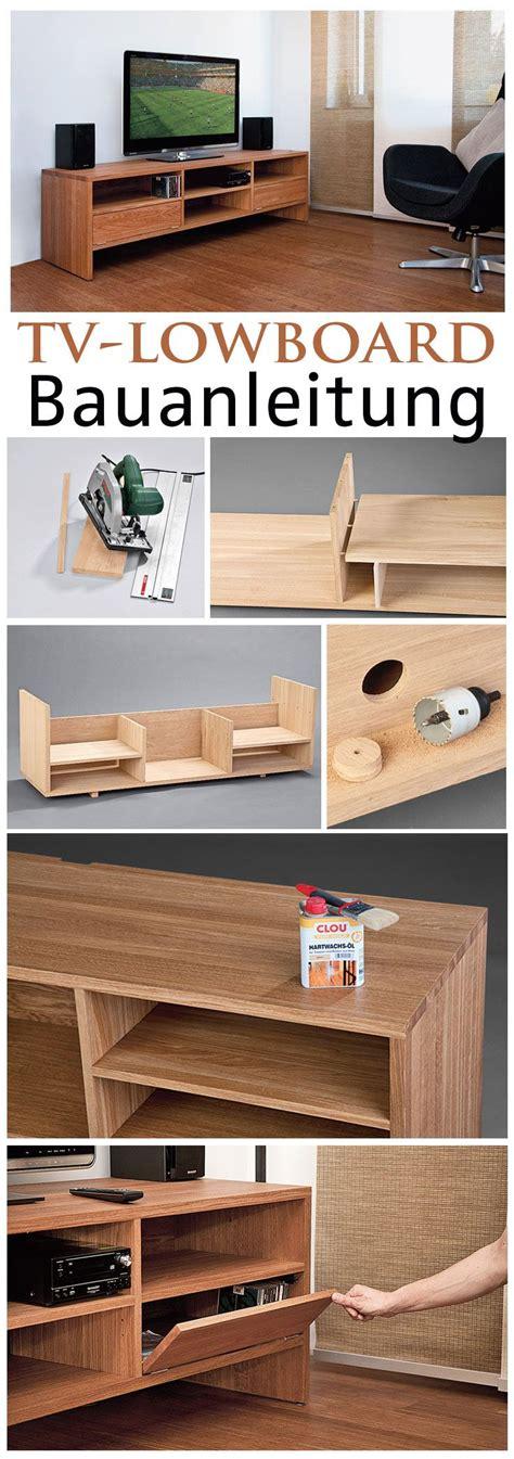Lowboard Selber Bauen  Haus Dekoration
