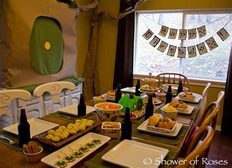 hobbit lotr party ideas images  pinterest