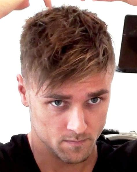 how to style short hair men side hairstyles highlights