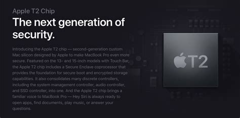mac  apple  security chip heres
