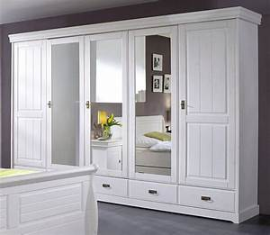 Schlafzimmer Komplett Holz : massivholz schlafzimmer set komplett 180x200 kiefer massiv wei ~ Indierocktalk.com Haus und Dekorationen