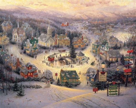 st nicholas circle the thomas kinkade company