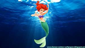 anime wallpapers: the little mermaid - الحورية الصغيره 2