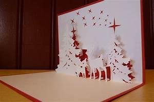Modele Carte De Voeux : modele carte de voeux kirigami ~ Melissatoandfro.com Idées de Décoration