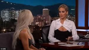 Jennifer Lawrence grills Kim Kardashian on Blac Chyna feud