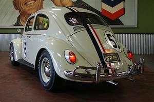 1963 Volkswagen Beetle Sunroof Custom  U0026 39 Herbie U0026 39