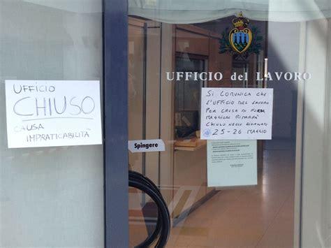 Ufficio Lavoro San Marino Conclusi I Lavori Di Bonifica Dei Locali Dell