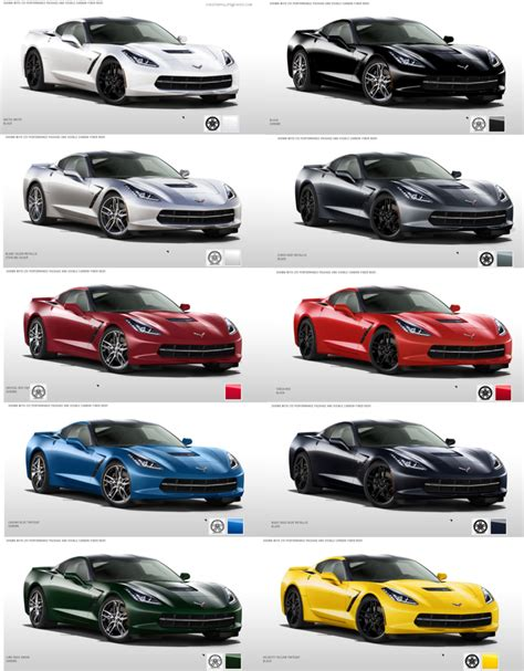 2013 corvette paint colors pictures to pin on