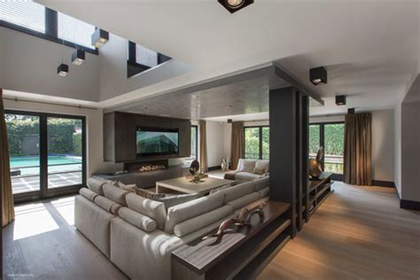 ultramodern sleek house  sharp lines