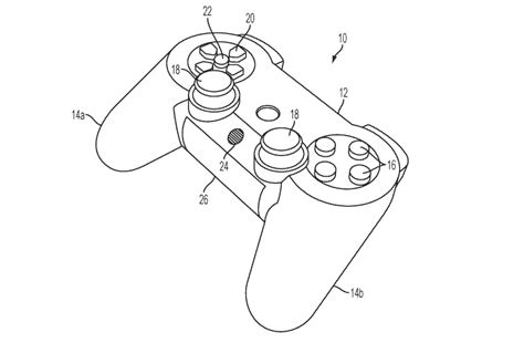 newly updated ps4 patent hints at controller with touchscreen