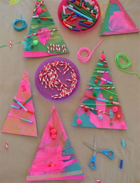 easy christmas craft  kids bright star kids