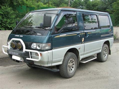 Mitsubishi Delica Picture by 1995 Mitsubishi Delica Pictures 2 4l Gasoline