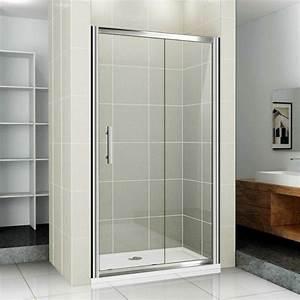 porte de douche coulissante battante et fixe en 95 idees With porte de douche coulissante avec quel plafonnier pour salle de bain