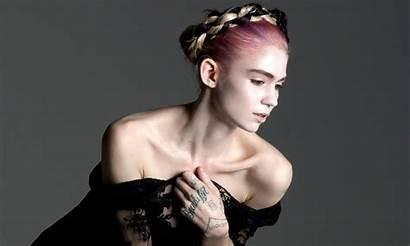 Grimes Singer Wallpapers Musician Canadian Angels Boucher