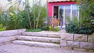 Rasenmäher Für Hanglage : p2 gestaltung mit pflanzen ~ Frokenaadalensverden.com Haus und Dekorationen