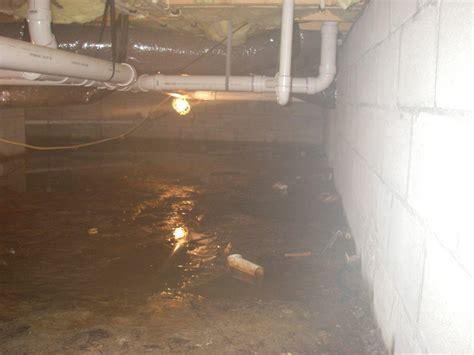 Crawl Space Repair Water Filled Crawlspaces Water