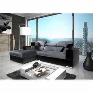 salon canap gris beautiful x with salon canap gris With tapis persan avec canapé cuir moderne design