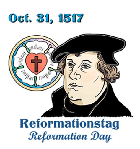 german reformation day calendar history tweets facts quotes