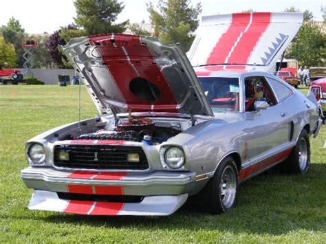 silver  ford mustang ii custom hatchback