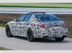 2017 BMW M5 latest spy shots reveal more of its design