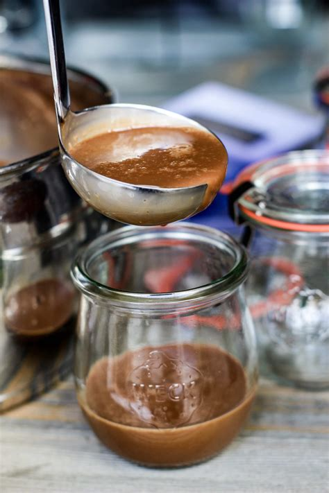 rich and decadent sous vide chocolate pot de creme