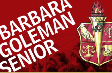 barbara goleman senior high school