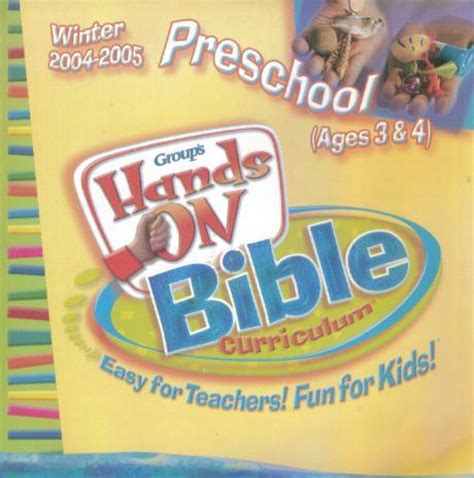 bible based preschool curriculum on bible curriculum preschool winter 2004 2005 cd ebay 98678