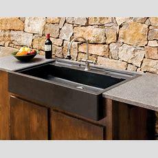 Salus Outdoor Kitchen Sink  Stone Forest