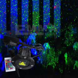elf light christmas lights projector outdoor laser green and blue moving garden laser decoration
