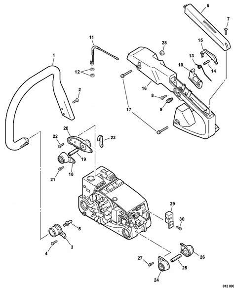 Diagram Of Stihl Tiller Engine by Stihl 036 Chainsaw Parts List Menhavestyle1