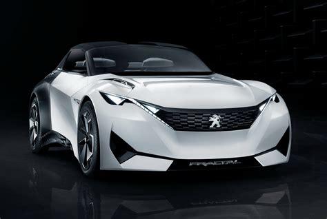 peugeot car images peugeot s new fractal coupe hatch convertible concept in