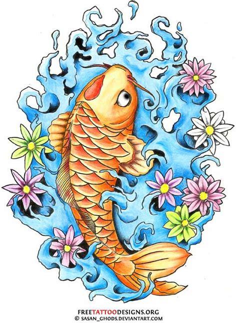 latest dragon fish tattoo designs