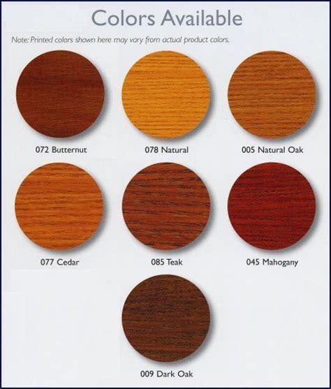 7 best images of sikkens wood stain color chart best