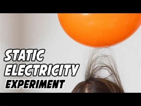 static electricity experiments youtube