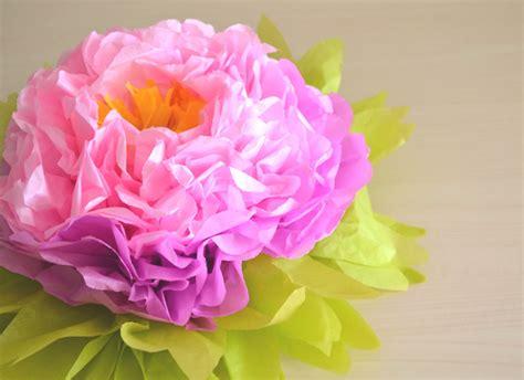 tutorial fiori di carta velina come fare un maxi fiore decorativo di carta velina