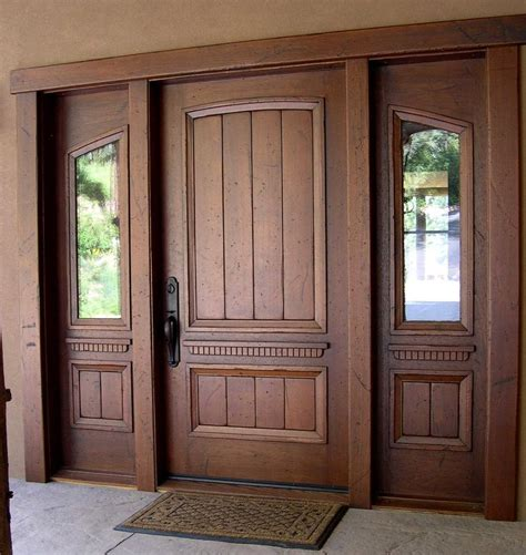 best 25 solid wood front doors ideas on wood