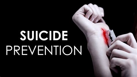 suicidal behaviour  suicide prevention