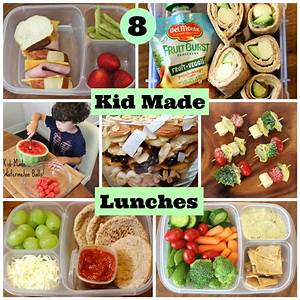 4 Healthy School Lunches Your Kids Can Make Themselves ...