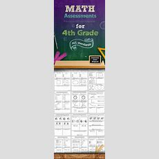 Common Core Math Assessments  4th Grade  Assessment, Math And Common Cores