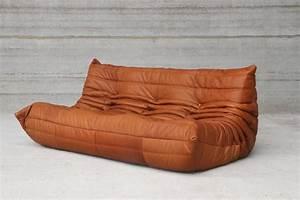 Ledersofa Cognac Vintage : cognac leather ligne roset togo sofa set designed in 1973 by michel ducaroy at 1stdibs ~ Frokenaadalensverden.com Haus und Dekorationen