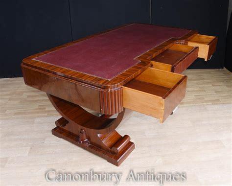 bureau table big deco partners desk writing table bureau 1920s