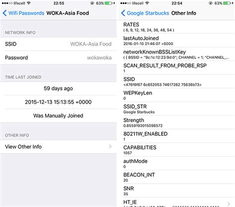 how to view passwords on iphone how to view saved wifi network passwords on iphone