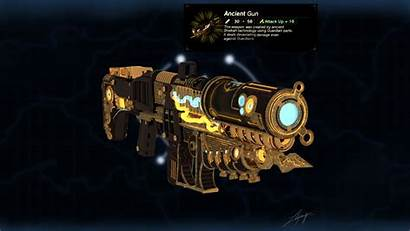 Sheikah Ancient Gun Fanart Artstation Lea Breath