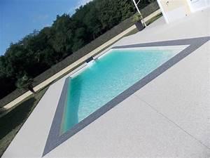 Piscine Sans Margelle : galerie piscine resine stone colorresine stone color ~ Premium-room.com Idées de Décoration